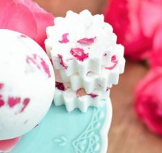 Rose Petal Bath Bombs