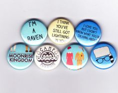 moonrise kingdom - love these buttons!