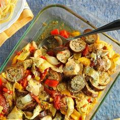 Artichoke Ratatouille Chicken Recipe -I loaded all the fresh produce I could…