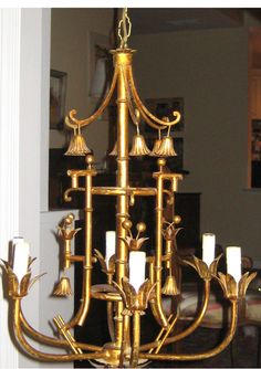 Our faux bamboo chandelier is a customer favorite charlotte and ivy our faux bamboo chandelier is a customer favorite charlotte and ivy loves the antique gold finish and classic style the chandelier exudes chino aloadofball Choice Image