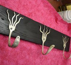 Funky forks coat rack  #Coathanger, #Fork