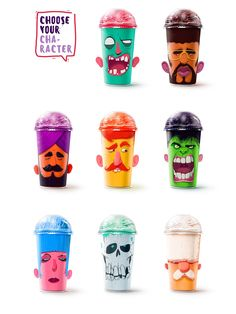 Shake My Head Milkshakes on Packaging of the World - Creative Package Design Gallery