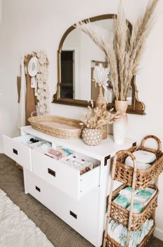 Nursery Twins, Baby Nursery Decor, Baby Bedroom, Baby Boy Rooms, Baby Decor, Nursery Room, Boho Nursery, Nursery Ideas, Nursery Inspiration