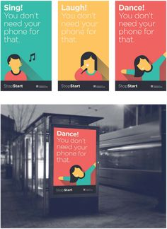 StopStart - Campaign by Isaac Minogue, via Behance
