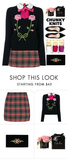 """""""Get Cozy:Chunky Knits"""" by grozdana-v ❤ liked on Polyvore featuring Gucci, Michael Kors, Côte Noire and chunkyknits"""
