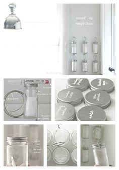 Wire and Hanging Spice Storage