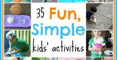 Great activities for kids!