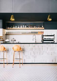 46 The Idea of a Basement Bar basement bar designs, industria. 46 The Idea of a Basement Bar basement bar designs, industrial basement bar, rus Restaurant Design, Architecture Restaurant, Interior Architecture, Design Hotel, Design Café, Cafe Design, Paris Design, Design Trends, Modern Design