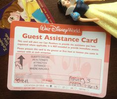 Doing Disney with Autism.  This is a lifesaver when visiting the parks.