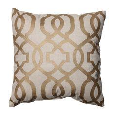 Pillow Perfect Geometric Cotton Throw Pillow