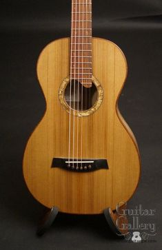 Bent Twig Parlor Guitar Sitka Spruce, Spalted Maple, Mandolin, Cool Guitar, Acoustic Guitars, Stage, Gallery, Hot, Ideas