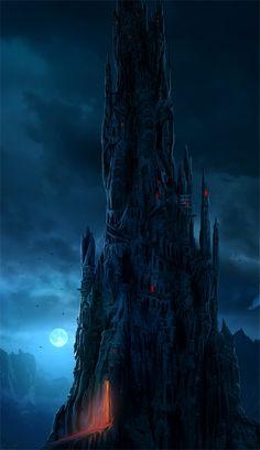 Dark tower...artwork by =Sedeptra