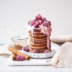 Likes, 233 Comments - Nicola Perfect Pancake Recipe, Yummy Pancake Recipe, Yummy Food, Brunch Recipes, Sweet Recipes, Breakfast Recipes, Dessert Recipes, Spelt Pancakes, Nice Cream