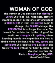 Woman of God, the Bible is still being written so submit fully to becoming an instrument of His perfect Will. It's true! Faith Quotes, Bible Quotes, Godly Women Quotes, Quotes Quotes, Soli Deo Gloria, Identity In Christ, True Identity, The Embrace, Women Of Faith