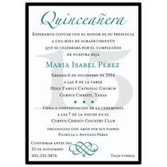 Quinceanera Invitation Wording Template Best Template Collection