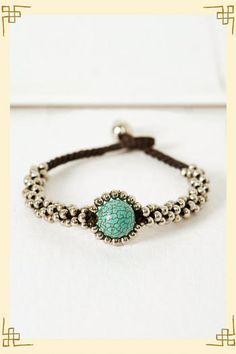 Center of the Earth bracelet