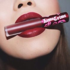Lime Crime Velvetines :: WICKED