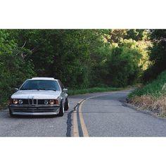 E24  PCRED | OWNER: @mojocoggo  #KlasickFtm3nt #BMW #e24