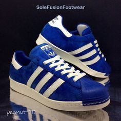 adidas Mens Superstar 80s Trainers Blue size 8 Rare Retro Sneakers US 8.5 EU 42 | eBay