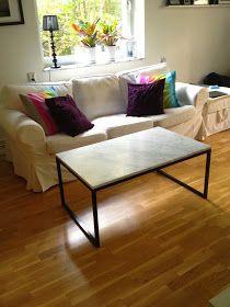 Runadesign Tillverkar Marmorbord Soffbord Matbord Sideboard Hjälper Hur Man Gör Betongbord