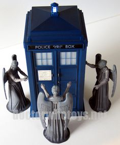Doctor Who Action Figures - Weeping Angel (Screaming Version)