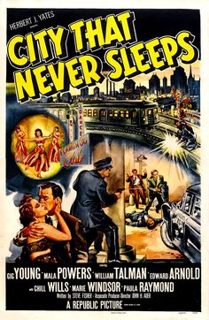 City That Never Sleeps –film poster