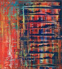 Gerhard Richter, Tableau abstrait, 1992