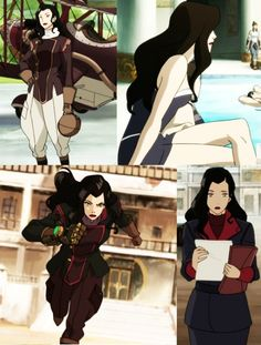 Asami's outfits