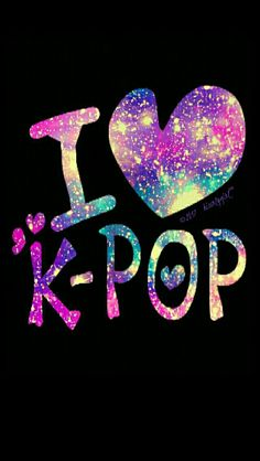 K-POP galaxy iPhone/Android wallpaper I created for CocoPPa.