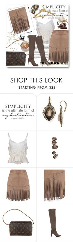"""""""Untitled #2743"""" by snickres ❤ liked on Polyvore featuring Samantha Wills, Dolce&Gabbana, Louis Vuitton and GALA"""