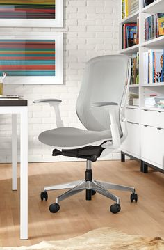 Sylphy® Office Chairs in White
