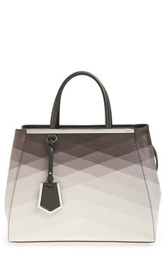 Can I just say I'm in love .......Fendi 'Ombré 2Jours' Leather Shopper available at #Nordstrom