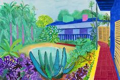 David Hockney's New Retrospective Opening at London's Tate Britain Reminds Us that His Art is Timeless Photos | W Magazine