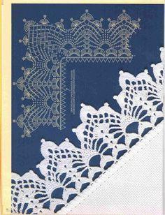 Artes by Cachopa - Croche & Trico: Bicos - Uma dose de requinte