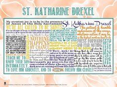 St. Katharine Drexel - Site-Wide Activity   Awestruck Catholic Social Network