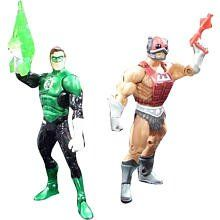 DC Universe Masters of the Universe Classics Action Figure 2Pack Cosmic Crusader Green Lantern Vs Cosmic Enforcer Zodac -- Want to know more, click on the image.