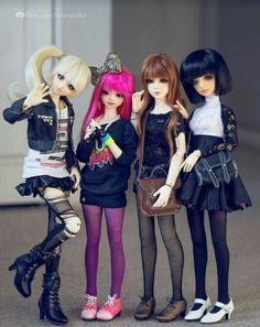 The super girls