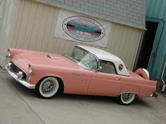 A NEED not a want!!!  1956 Sunset Coral Thunderbird