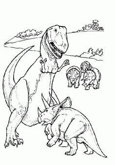 Dinosaurier 22 Ausmalbilder