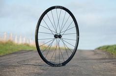 aero light disc bike wheelset
