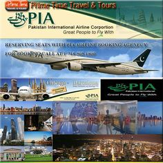 Enjoy Hot Deals By Reserving Seats With PIA Airline Booking Ticket Agency  Pakistan International Airlines is the nation's flag carrier airline. It is one of the most successful airlines of Pakistan that has been running its business in the transportation sector for the past six decades.   https://www.primetimetravelnyc.com/airlines/enjoy-hot-deals-by-reserving-seats-with-pia-airline-booking-ticket-agency/