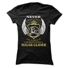 Power of Sugar Glider Mom T-Shirts, Hoodies. VIEW DETAIL ==► Funny Tee Shirts