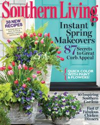 Southern Living magazine  My fav magazine all my adult life! Design, Recipes, Landscape and simply a southern way of life!
