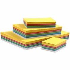 Happy #karton, A3 A4 A5 A6, 180 gr, 1500 assorti vel, kleuren assorti
