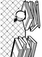 Darice Embossing Folders A2 School Books