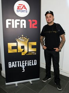 Damien O' Brien was among those in attendance at Celebrity Gaming Club's FIFA 12 Launch Party. Battlefield 3, Launch Party, Fifa, Product Launch, Club, Games, Celebrities, Sports, Movies