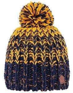 Barts - Blue-yellow Cooper gradient hat - Pepatino.be
