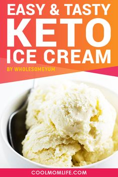Keto Ice Cream recipes to help you satisfy your sweet tooth while eating delicious Keto desserts. Keto diet will be tasty with these low carb ice cream recipes. Ice Cream Recipes, Tea Recipes, Dessert Recipes, Sweet Recipes, Low Carb Desserts, Low Carb Recipes, Diabetic Recipes, Keto Snacks, Keto Foods