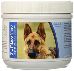 Healthy Breeds ZFlex Max Hip and Joint Support Soft Chews  German Shepherd   50 Count -- Click on the image for additional details. (This is an affiliate link) Pet Supplements, Counting, Pet Supplies, Corgi, German, Pets, Healthy, Image Link, Medium