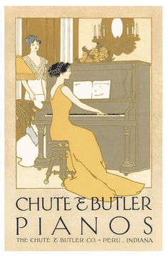The Chute & Butler Piano Company was established in 1900. Chute & Butler was a smaller-scale piano manufacturer that specialized in ...